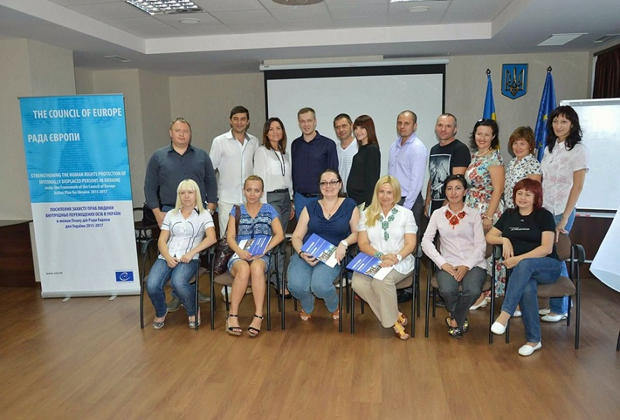 "A two-day training on ""Business integration of Internally Displaced Persons in Dnipropetrovsk region"" took place in Dnipro, Ukraine"