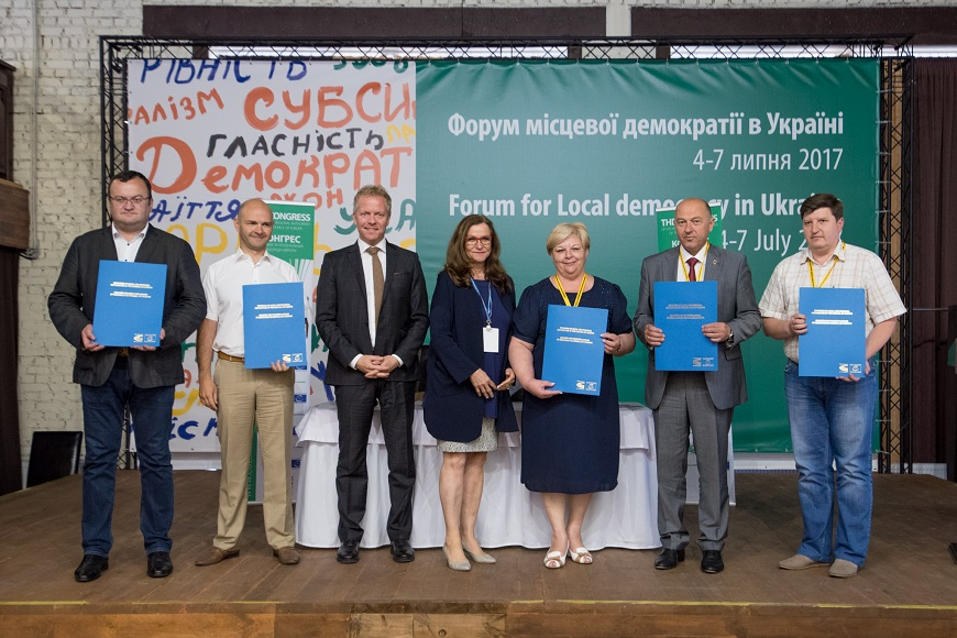 Ukraine: Council of Europe to support transparency and citizen participation initiatives in five communities
