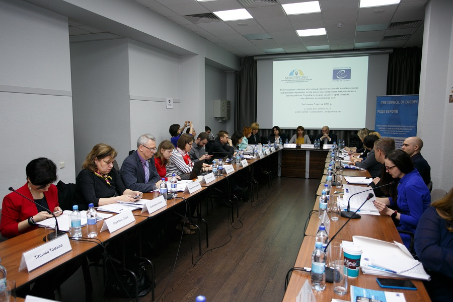Working Group meeting on Improving National Legislation on the Protection of the Human Rights of Internally Displaced Persons