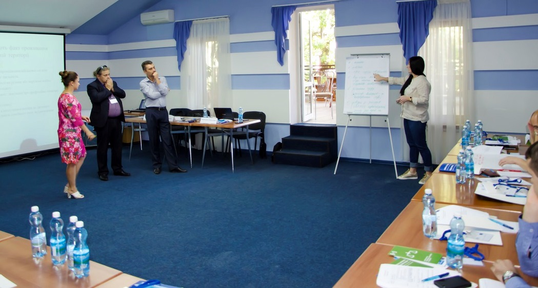 "Trainings ""Protection of the rights of internally displaced persons"" organized for lawyers working in Luhansk and Donetsk region"