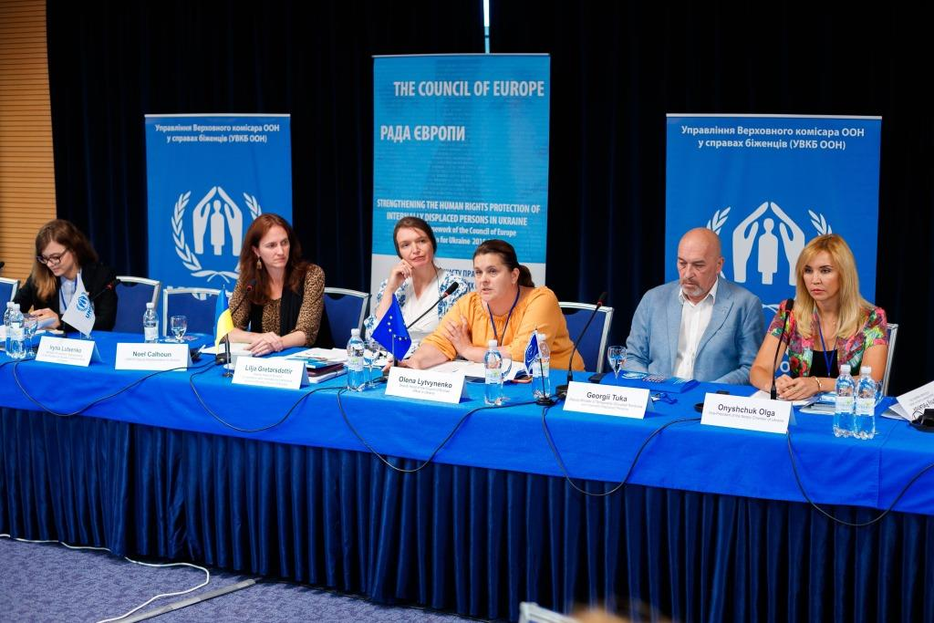 Seminar on the prohibition of discrimination in the context of internal displacement was held by the Council of Europe and UNHCR