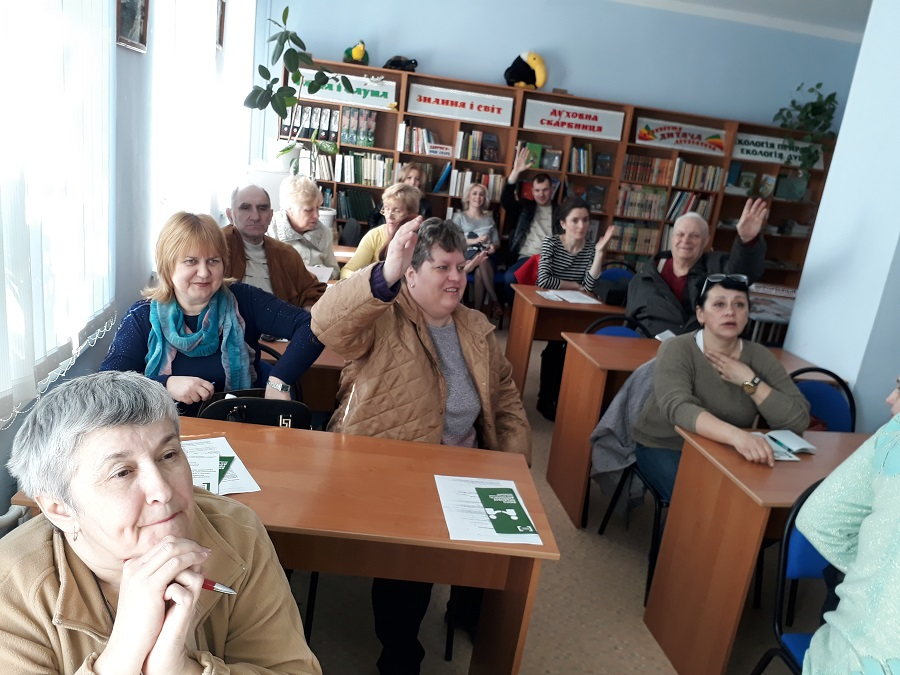 Ambulatory consultations of mobile groups of local centers and bureaus on free legal aid for IDPs was organised to Mykolaivka, Donetsk region
