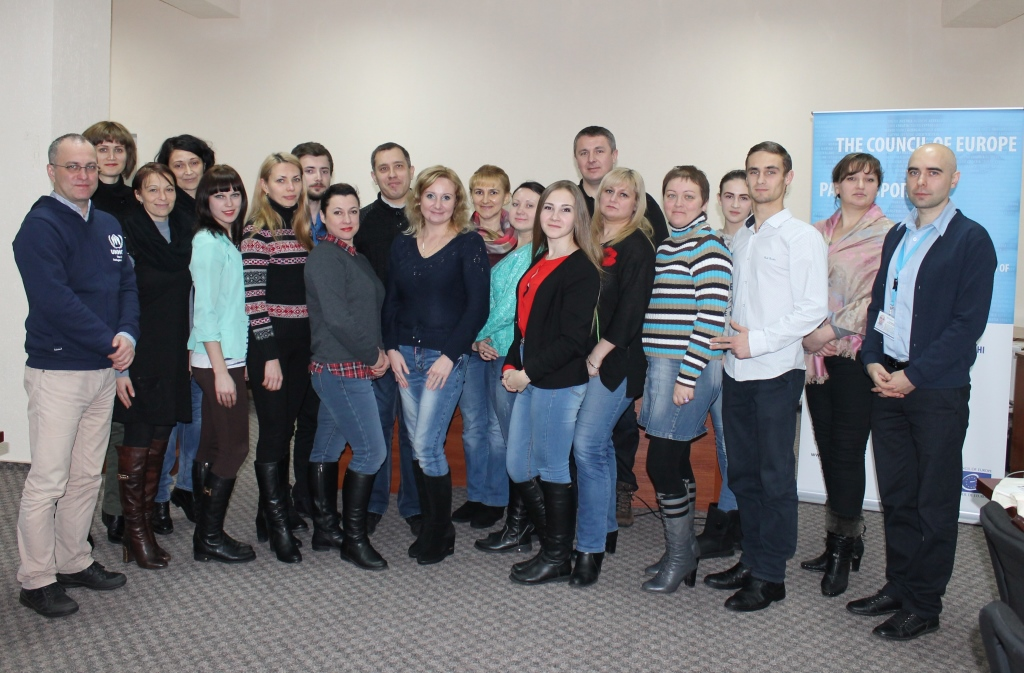 "Seminar ""NGO as a source of IDPs integration"" in Severodonetsk, Lugansk region"