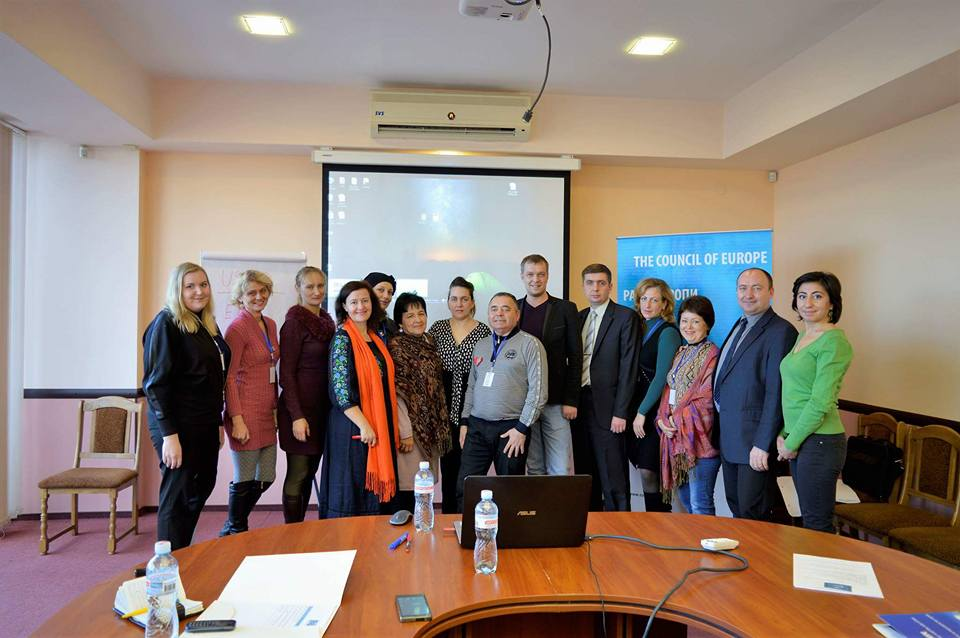 "Training ""Successful management and implementation of projects aimed at protecting the rights of IDPs"" in Dnipro, Dnipropetrovsk region"
