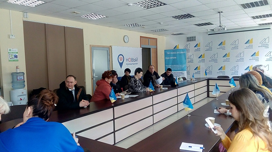 "Ukrainian Parliament Commissioner for Human Rights personal visit and reception of citizens in Lugansk region on 28 – 30 March 2017 was supported by the Council of Europe Project ""Strengthening the Human Rights Protection of Internally Displaced Persons in Ukraine"""