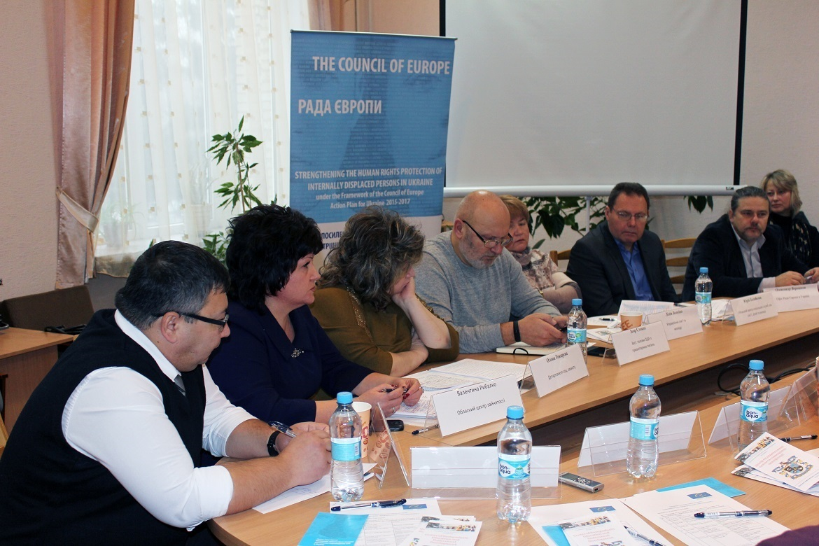 "Integration activity ""Self-employment, retraining and career guidance for IDPs"" held in Kramatorsk"