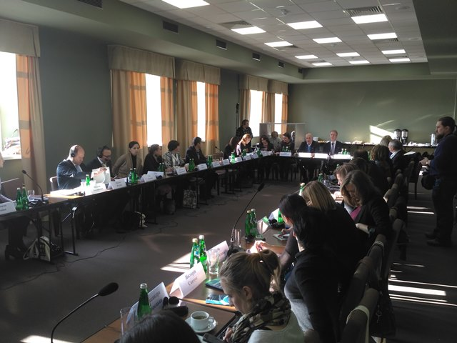 Constituent meeting of the Interagency Working Group on Improving National Legislation on the Protection of the Human Rights of Internally Displaced Persons