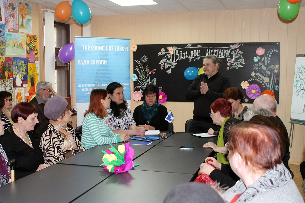 "Integration activity ""Age is not a sentence"" was successfully organised for elderly internally displaced persons in Kramatorsk, Donetsk region"