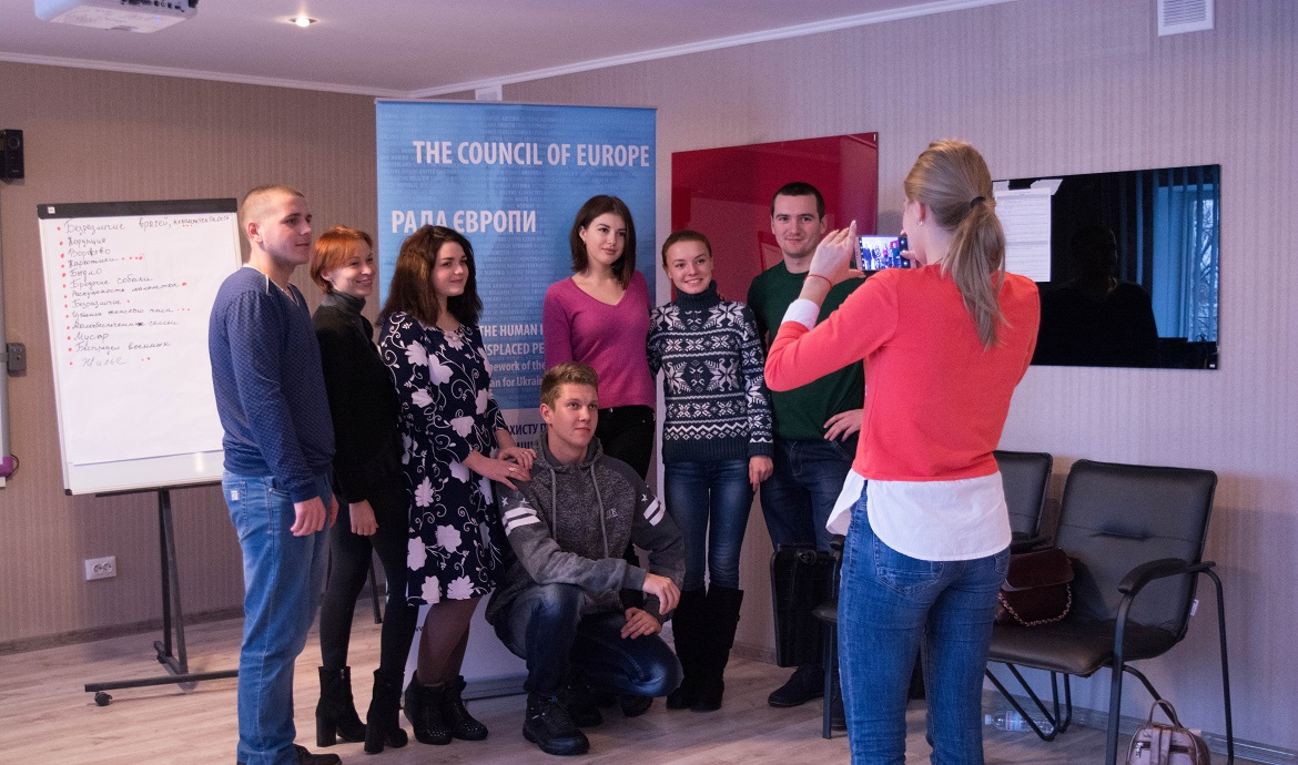 "The Project ""Strengthening the Human Rights Protection of Internally Displaced Persons in Ukraine"" is finalized in Luhansk region by supporting integration activity for students"