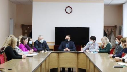 Meeting with representatives of public organizations of national communities of Nizhyn