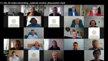 "Expert discussion  On the implementation of effective judicial control  over the execution of national judgments (in the context of the execution of the European Court of Human Rights judgements in the cases ""Yuriy Nikolayevich Ivanov v. Ukraine"" and ""Burmych and others v. Ukraine"")"