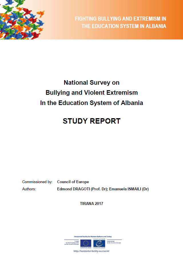 National Survey on Bullying and Violent Extremism in the Education System of Albania