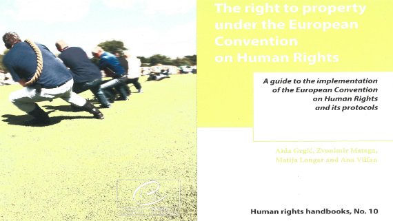 The right to property under the Convention