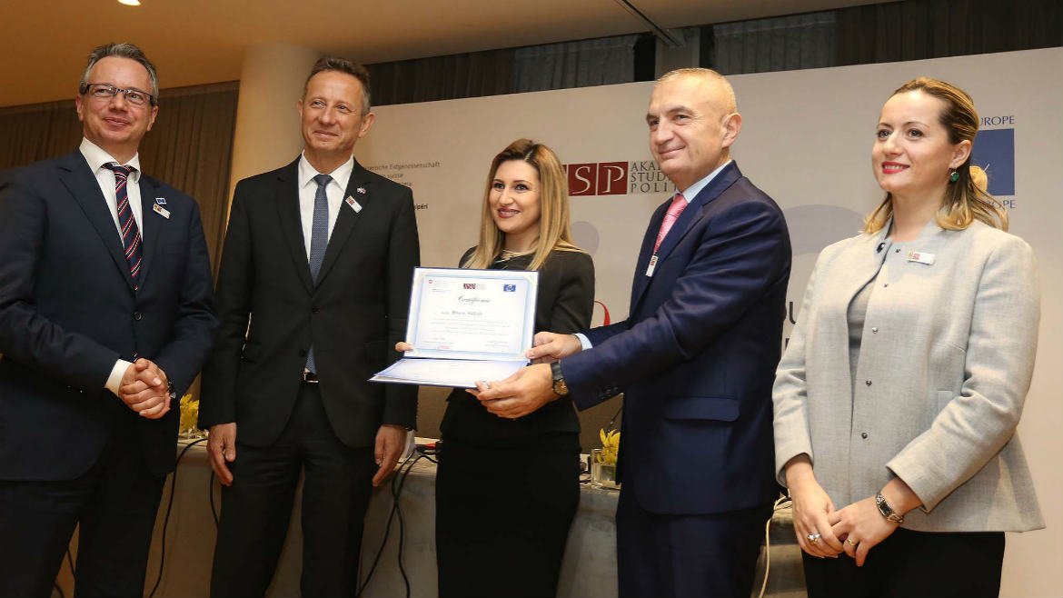 Albanian School of Political Studies celebrates its 10th anniversary