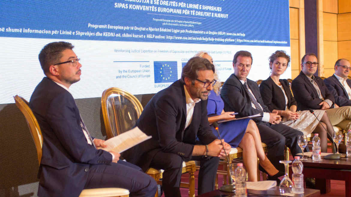The Albanian School of Magistrates organizes high level Conference on Freedom of Expression Challenges in Albania as it graduates the new generation of magistrates