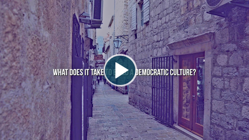 Promoting democratic culture in Western Balkans