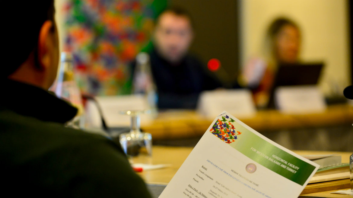 Cascade training of Albanian magistrates on effective remedies for length of proceedings
