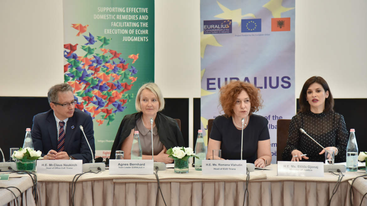 Experts from Eastern European countries gather in Tirana to analyse property matters in Albania and exchange best practices related to property restitution and compensation