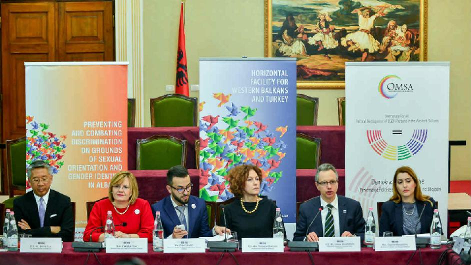 Forum on political participation of LGBTI people in Albania