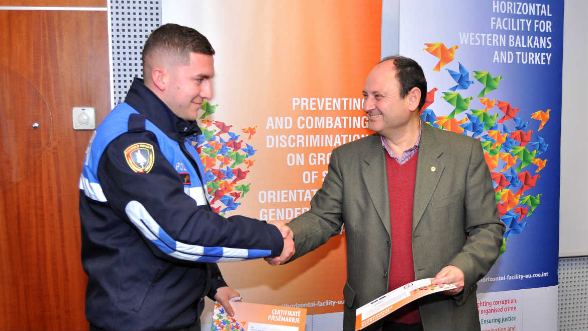 New guide and support to policing hate crimes against LGBTI community in Albania