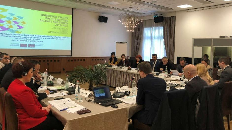 Enhancing training provision in Western Balkans region with regards to radicalisation in prisons