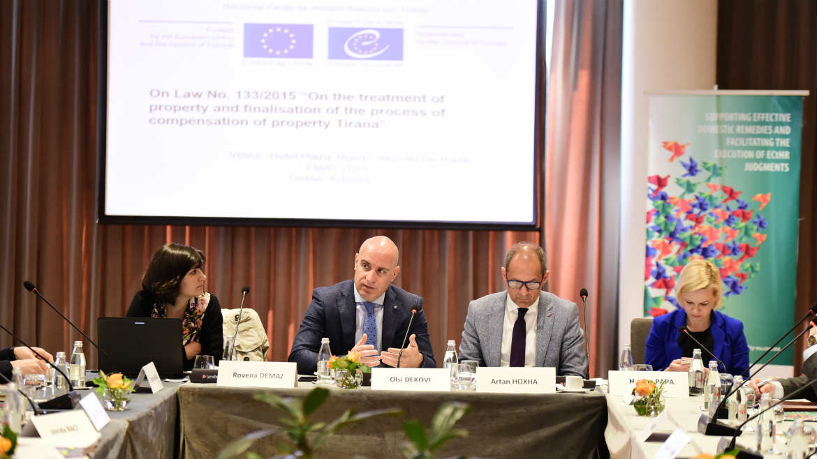 Support to implementation of the law on the Treatment of Property in Albania