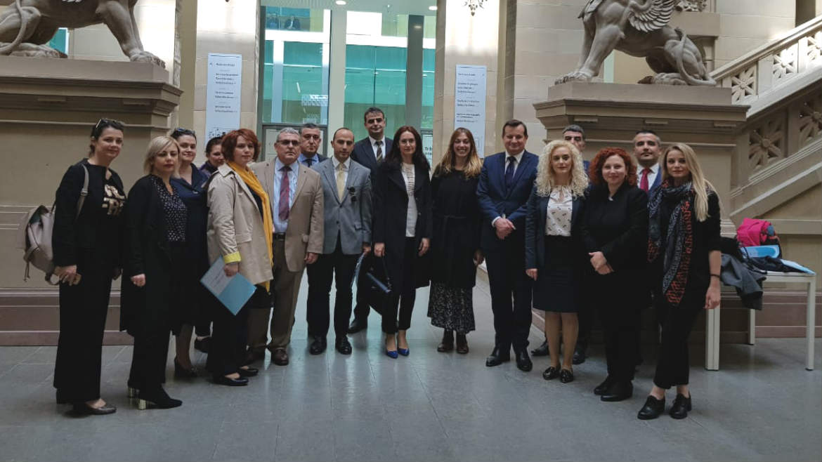 Study visit on case management and court administration with representatives of new judicial institutions