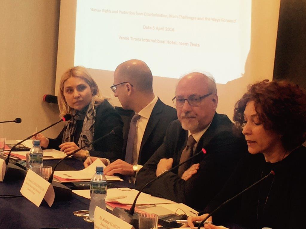 "Launching Conference and 1st Steering Committee Meeting of the EU-CoE Joint Project ""Enhancing the Effectiveness of the Albanian System of Human Rights protection and discrimination"""