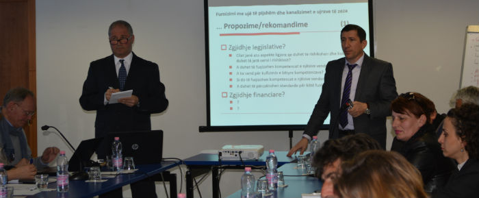 "Regional meetings ""Roundtable of Local Authorities for a new law on Organisation and Functioning of Local Government"""