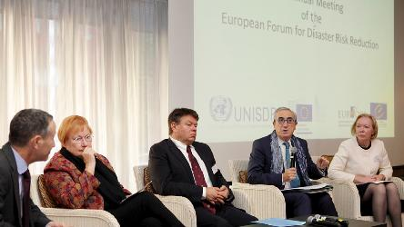 7th Annual Meeting of the European Forum for Disaster Risk Reduction