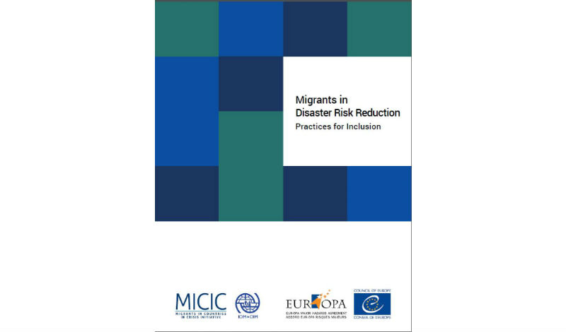 Launch of the new publication on Migrants in Disaster Risk Reduction