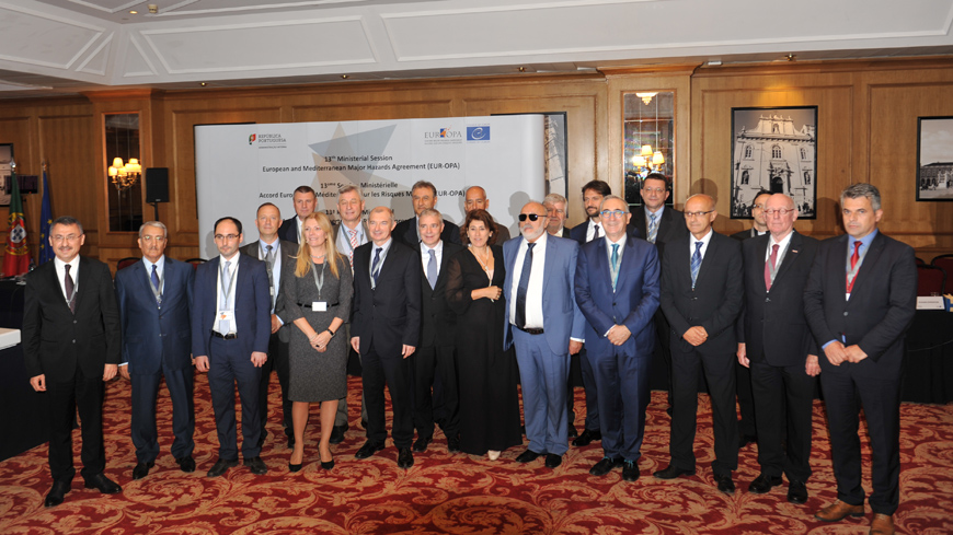 EUR-OPA Hazard Ministerial Conference in Lisbon: Building more disaster resilient societies