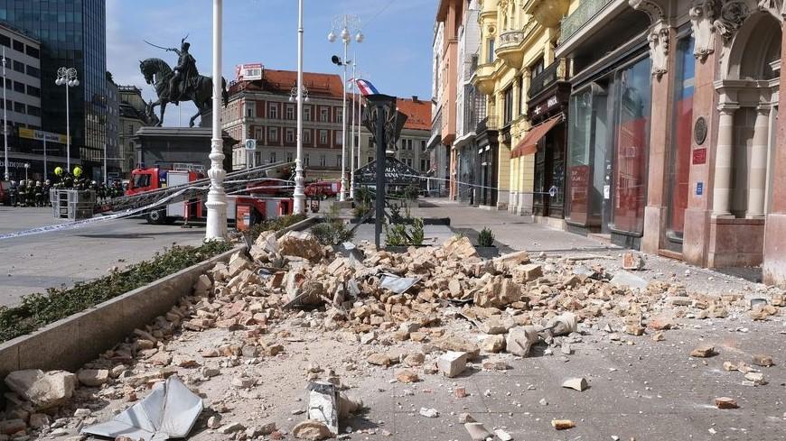 Zagreb Hit By Earthquake While In Coronavirus Lockdown Covid 19 Newsroom