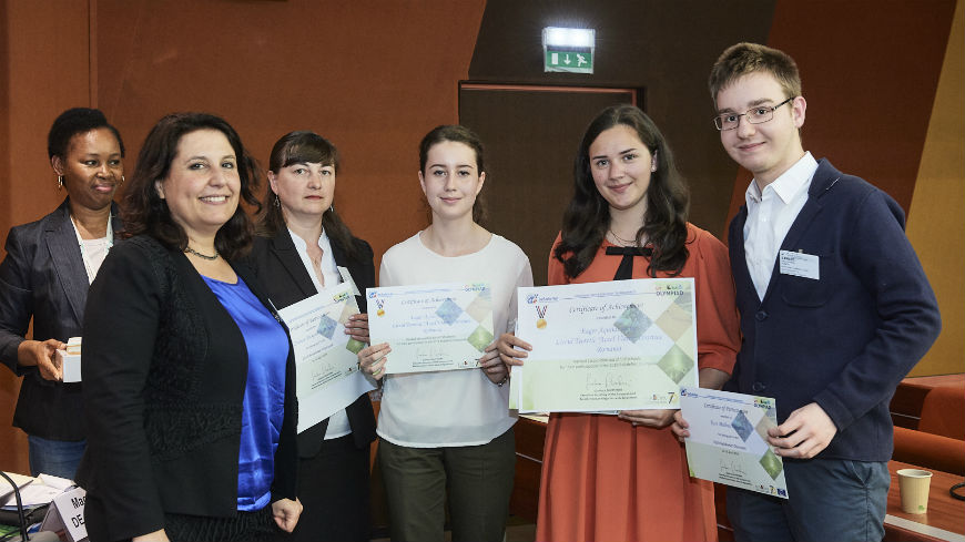 "BeSafeNet Olympiad Award Ceremony: ""Better knowledge against disasters"""