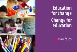 "Manifesto ""Education for Change - Change for Education"" condensed version now available"