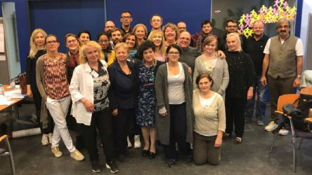 "The training resources of the Pestalozzi Programme trainer training course ""From the remembrance of the Holocaust to the prevention of radicalisation and crimes against humanity"" are online now."