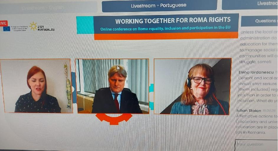 Advisory Committee President, Marie B. Hagsgård, speaks at EU Council Presidency Conference Webinar