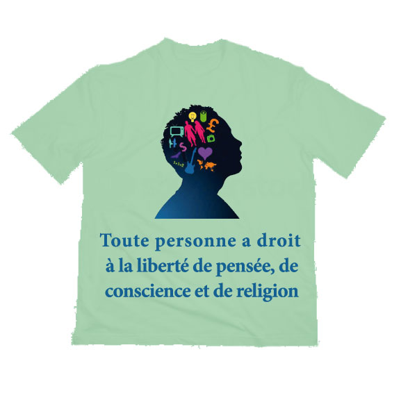 T-shirt article 9