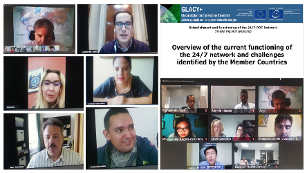 GLACY+: Online Regional Workshops in Africa, Asia-Pacific and Latin America on Establishment and functioning of the 24/7 Points of Contact Network