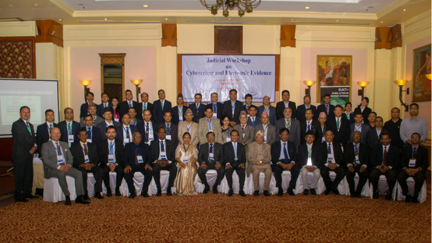 GLACY+: Special program on cybercrime and e-evidence for the judiciary in Nepal delivered by Sri Lankan trainer-justices