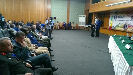 GLACY expertise at the 4th Meeting of African Gendarmeries