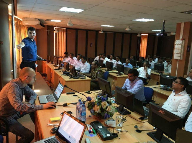 GLACY: Live Data Forensics Training for Sri Lanka, in collaboration with CERT Romania