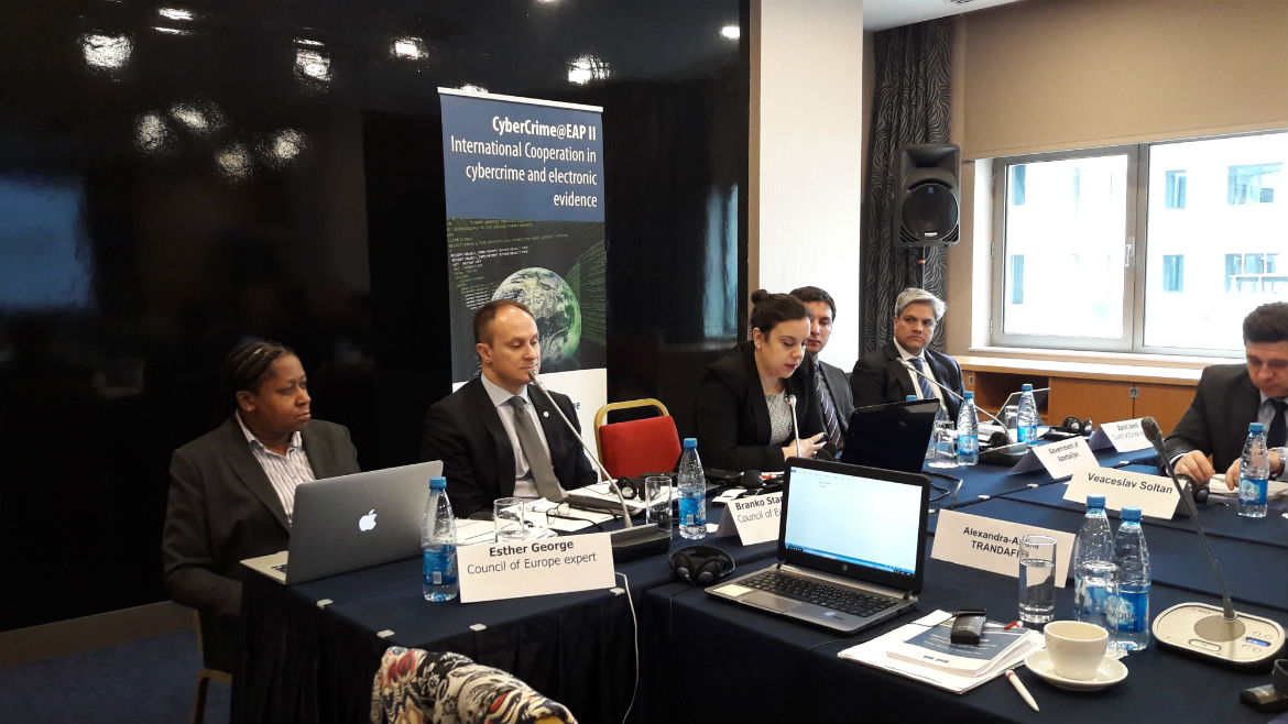 EAP II: Workshop on reform of legislation to ensure compliance with Articles 16 and 17 of the Budapest Convention on Cybercrime