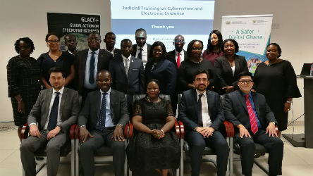 GLACY+: Mainstreaming cybercrime training modules in the curricula of Ghanaian Judicial Training Institutions