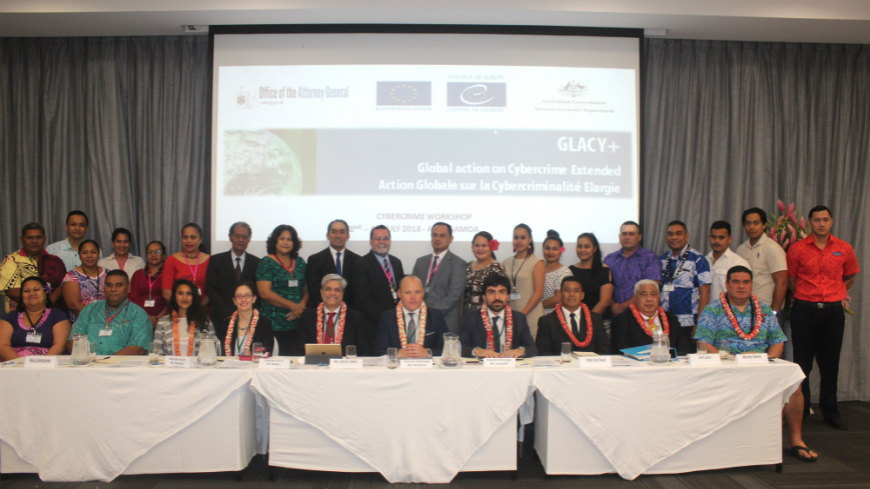 GLACY+: Samoa takes first steps towards the Budapest Convention