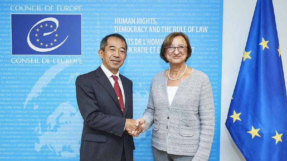 Japan makes a voluntary contribution