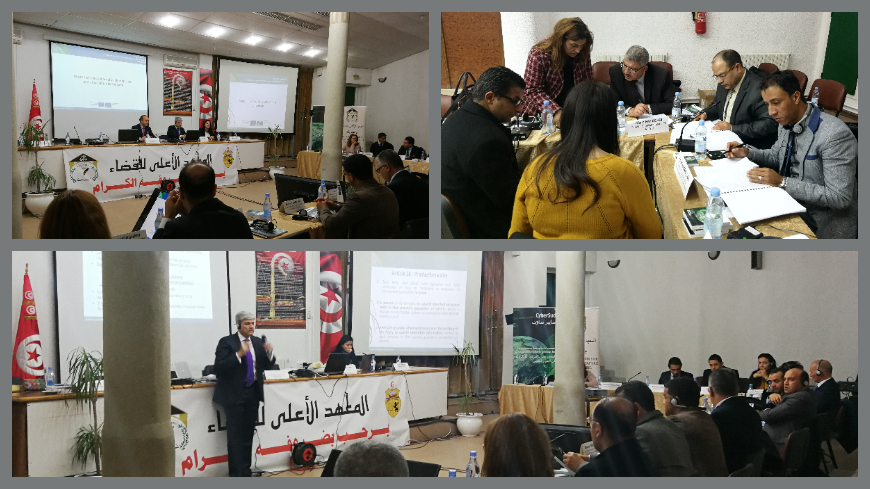 CyberSouth: Advanced Judicial Training on cybercrime and electronic evidence in Tunisia