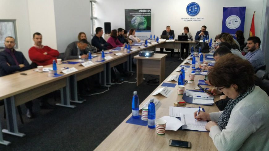 iPROCEEDS: Montenegro and Bosnia and Herzegovina conduct the third national delivery of the judicial training on cybercrime and online crime proceeds
