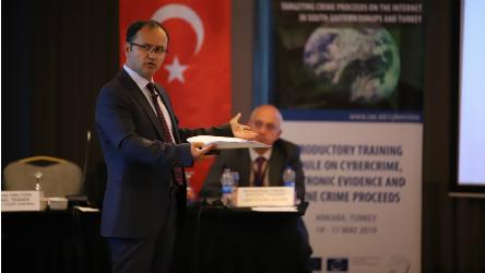 iPROCEEDS: Judicial Course on Cybercrime, Electronic Evidence and Online Crime Proceeds delivered by national trainers in Turkey