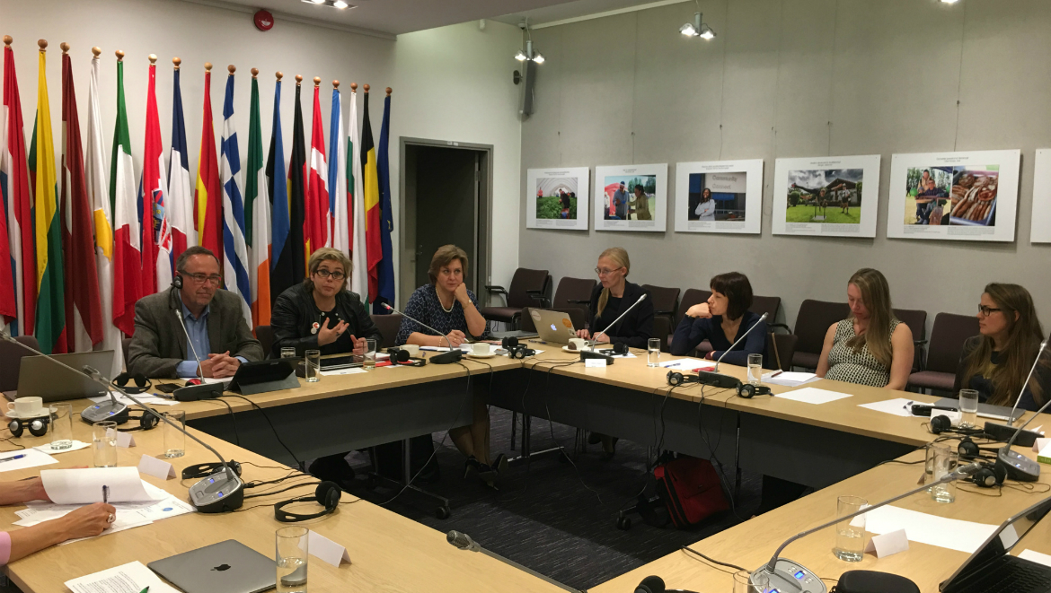 Fact-finding visit of the Conference of INGOs in Tallinn